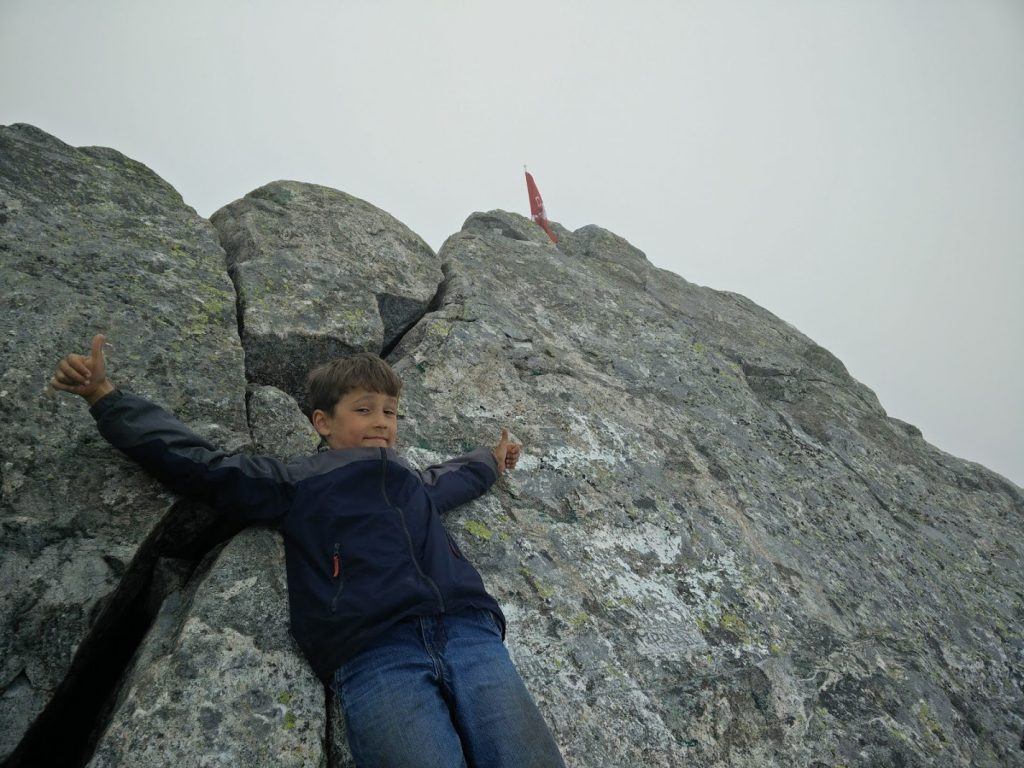 Max at the summit