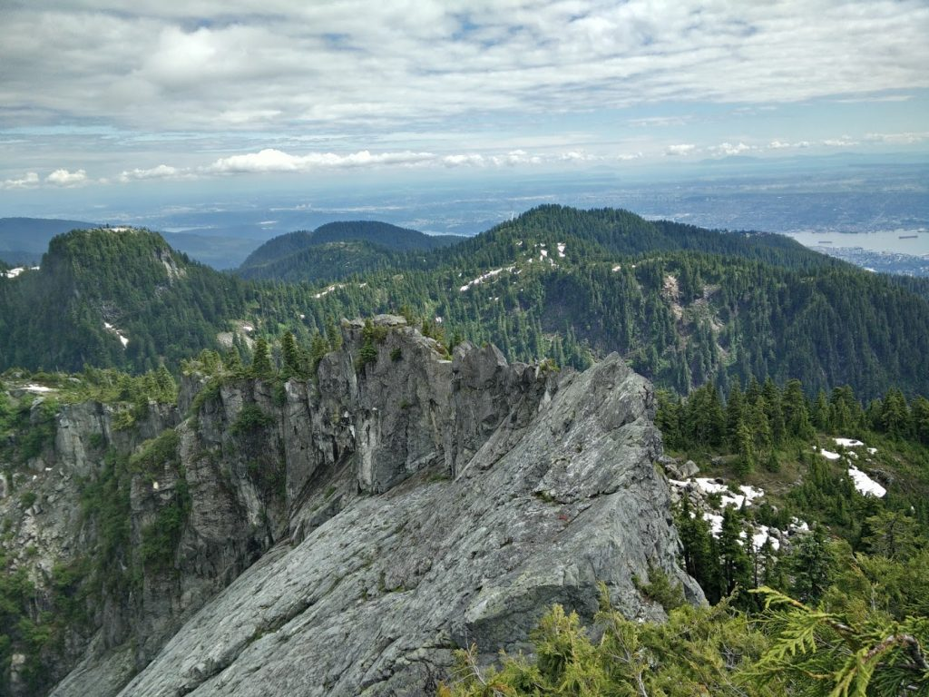 View from summit 1
